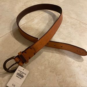 ANF leather Belt XS/S (new with tag)